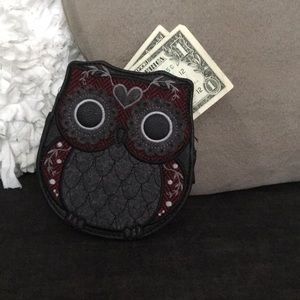 Loungefly owl coin purse